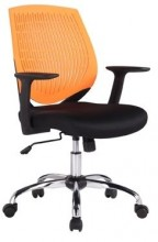 Židle Iowa oranžová